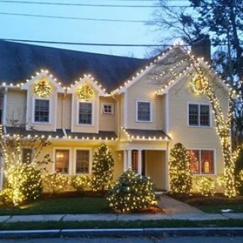 Christmas Lights in MA