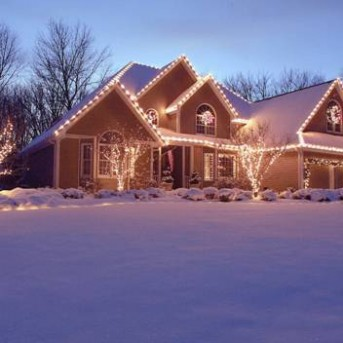 decorate your home for the holidays with lighting and wreaths