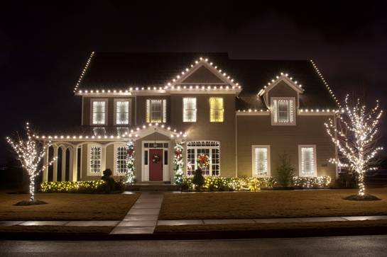 christmas lighting and decorating services residential holiday decor - Residential Christmas Decorating Service