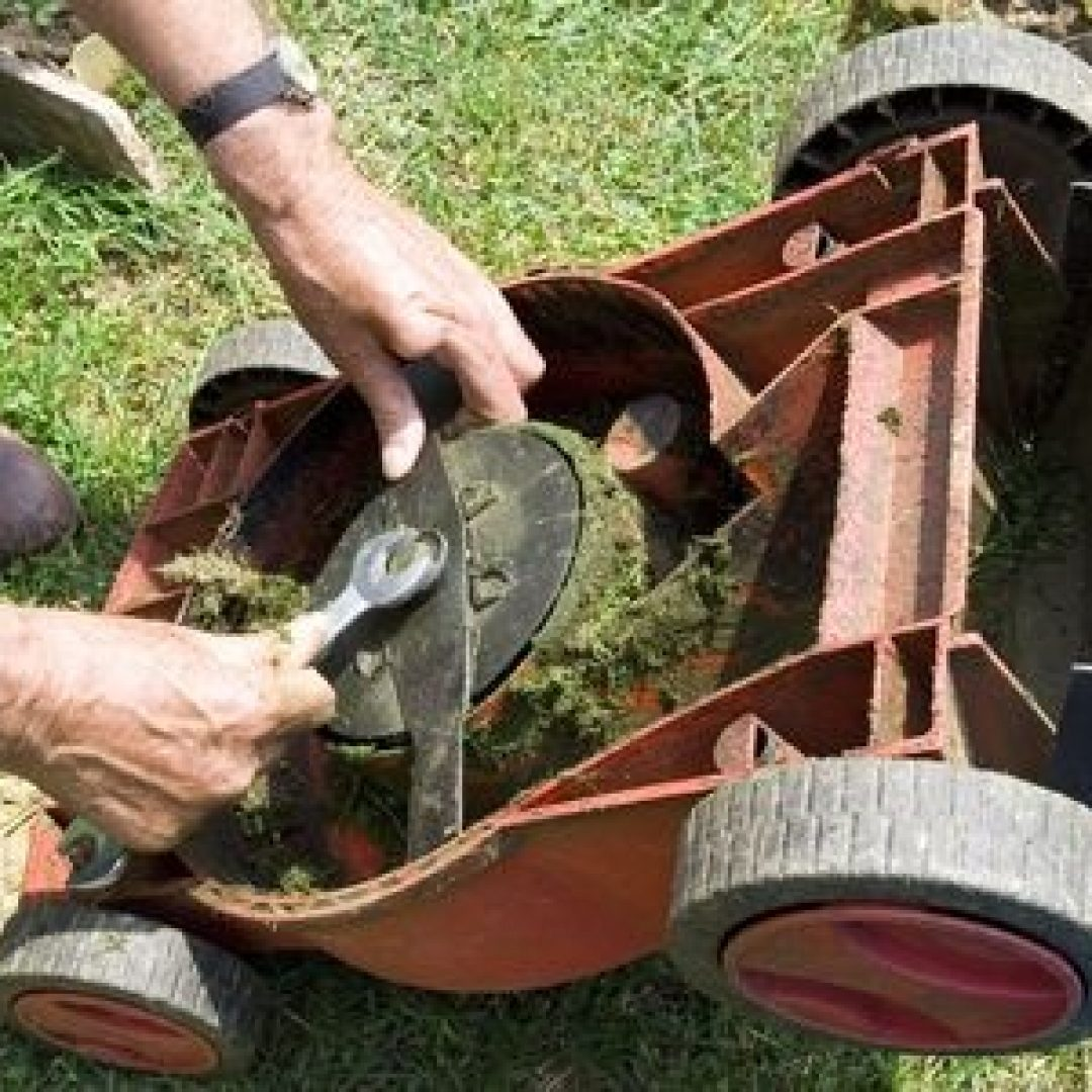 Treat Your Lawn Mower to a Spring Tuneup