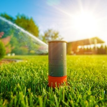 Tips for Watering Your Lawn with an Automatic Sprinkler
