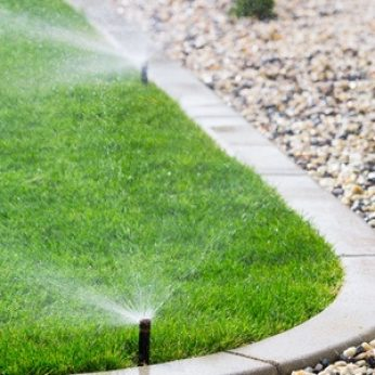 Planning a Sprinkler System Spray Zone