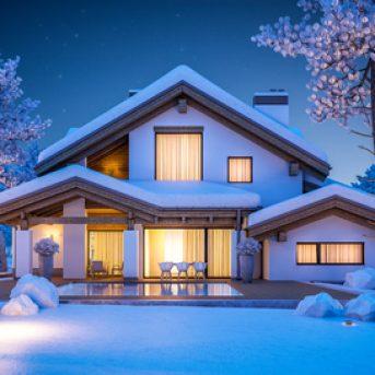 Winter Landscape Lighting