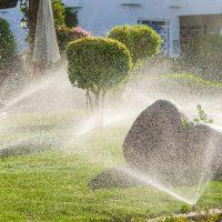 Residential Lawn sprinkler system
