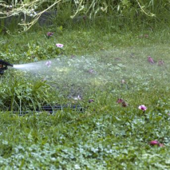 Lawn Sprinkler System from Suburban Lawn