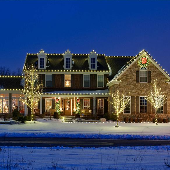 Holiday lighting for home